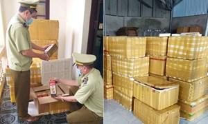 Xử phạt 90 triệu đồng, tịch thu 408 chai rượu nhập lậu tại Bắc Ninh