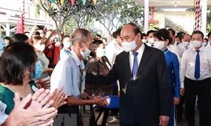 Chủ tịch nước Nguyễn Xuân Phúc bầu cử tại TP. Hồ Chí Minh