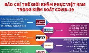 [Infographics] Quốc tế khâm phục nỗ lực kiểm soát dịch của Việt Nam