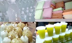 Hốt bạc nhờ bán chè, kem theo cân, nước mía, nước dừa theo lít