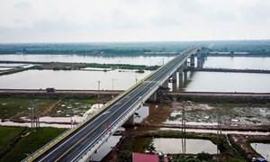 [Video] Cầu 1.100 tỷ ở Nam Định được thông xe