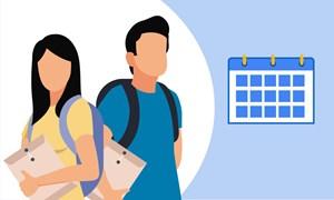 [Infographics] Các mốc tuyển sinh năm 2020 thí sinh cần nhớ