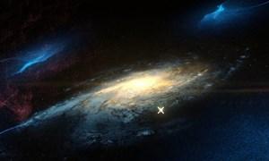 [Video] Vụ va chạm thiên hà tạo ra hệ Mặt Trời