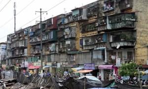 Nhiều vướng mắc cần tháo gỡ trong cải tạo chung cư cũ