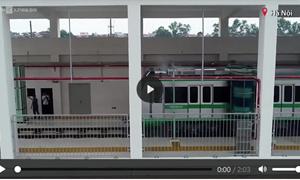 [Video] Khám phá Hệ thống rửa tàu tự động trên tuyến đường sắt Cát Linh - Hà Đông