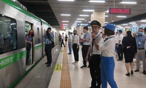 Hà Nội chuẩn bị khai thác đường sắt Cát Linh - Hà Đông, giá vé thế nào?