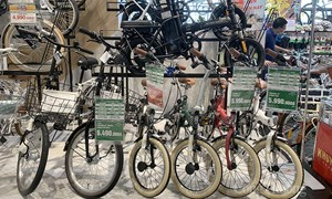 Nhu cầu tăng, kinh doanh xe đạp đắt khách mùa dịch