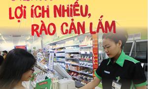 [Infographics] Thanh toán không dùng tiền mặt ở Việt Nam: Lợi ích nhiều, rào cản lắm