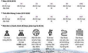 [Infographics] Tốc độ đô thị hóa đang tăng nhanh trên cả nước