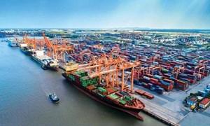 [Infographics] 6 tháng đầu năm 2021: Hàng container qua cảng biển tăng 22%