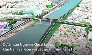 [Video] Cầu hơn 2.000 tỷ nối khu Nam Sài Gòn