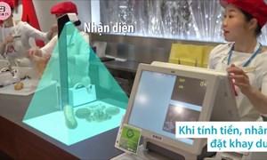 [Video] Mục sở thị máy nhận diện và tính tiền hàng hóa chỉ trong một giây ở Nhật Bản