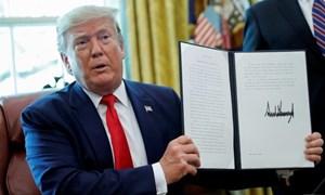 Tổng thống Mỹ ký sắc lệnh trừng phạt lãnh đạo cao nhất của Iran