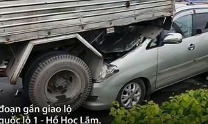 [Video] Nhìn lại vụ 5 ôtô tông liên hoàn ở TP. Hồ Chí Minh