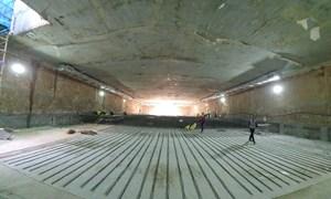 [Video] Hợp long ga ngầm đầu tiên tuyến đường sắt Nhổn - Ga Hà Nội