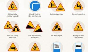 [Infographics] 12 trường hợp tài xế phải giảm tốc độ
