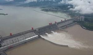 [Video] Đỉnh lũ đầu tiên ở Dương Tử, đập Tam Hiệp có dòng chảy 53.000 m3/s