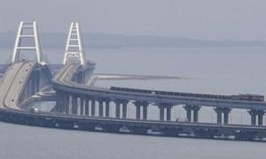 [Video] Nga khánh thành đường sắt xuyên biển nối bán đảo Crimea với lục địa