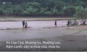 [Video] Sơn La thiệt hại lớn về nhà cửa, hoa màu do mưa lũ