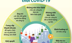 [Infographics] Các cách vực dậy nền kinh tế thời Covid-19