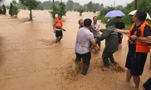 [Video] Mưa lớn gây lũ lụt trên diện rộng tại Trung Quốc