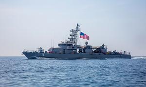 [Video] Trang bị trên chiến hạm Mỹ tuần tra ngoài khơi Iran