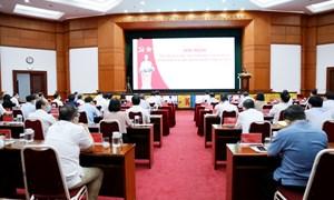 Chùm ảnh Hội nghị sơ kết công tác 06 tháng đầu năm, triển khai nhiệm vụ 06 tháng cuối năm 2021 của ngành Tài chính