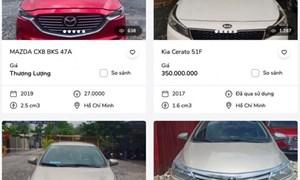 Ngân hàng ồ ạt bán ô tô thế chấp, giá từ 200 triệu đến 8 tỷ đồng