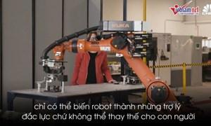 [Video] Không cướp việc, robot sẽ phối hợp làm cùng con người?