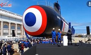 [Video] Pháp trình làng tàu ngầm đầu tiên chạy năng lượng hạt nhân siêu êm