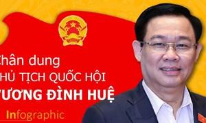 [Infographics] Chân dung Chủ tịch Quốc hội khóa XV Vương Đình Huệ