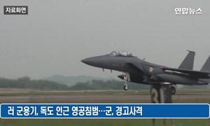 [Video] Tiêm kích Hàn Quốc chặn máy bay ném bom Moscow xâm nhập không phận