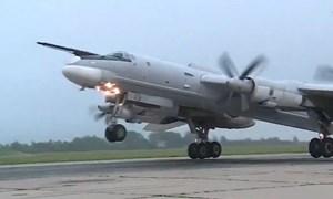 [Video] Đáp trả Hàn Quốc, Nga tung video máy bay ném bom bị chặn trên biển