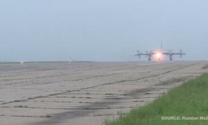 [Video] Nga tung video tuần tra chung với máy bay ném bom Trung Quốc