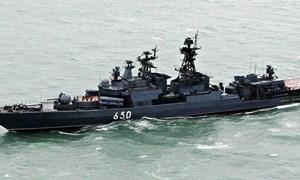 [Ảnh] Biến tàu khu trục săn ngầm Udaloy thành chiến hạm đa năng cực kỳ lợi hại