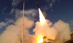 """[Video] Israel tung video thử """"lá chắn thép"""" thách thức tên lửa đạn đạo Iran"""