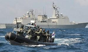 [Ảnh] Hải quân Hàn Quốc đưa nhóm tác chiến đặc biệt tới eo biển Hormuz gây áp lực lên Iran