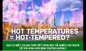 [Video] Vì sao mùa hè nóng nực khiến con người dễ nổi giận?