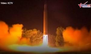 [Video] Triều Tiên hé lộ loại tên lửa mới thử, khác hẳn so với phân tích của Seoul