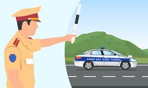 [Infographics] Phân quyền xử lý vi phạm của cảnh sát giao thông trên các tuyến đường