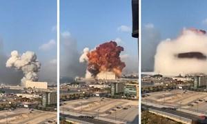 [Infographics] Bán kính công phá trong vụ nổ tại Lebanon