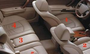[Video] Khôn ngoan chọn vị trí an toàn trên xe ô tô để tránh rủi ro