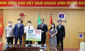 Ả rập Xê út viện trợ y tế phòng, chống dịch COVID-19 cho Việt Nam