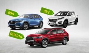 [Infographics] Corolla Cross, Tucson và CX-5 - lựa chọn nào cho khách Việt