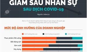 [Infographics] Hàng loạt doanh nghiệp cắt giảm nhân sự