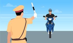 [Video] Quy trình kiểm soát mới của cảnh sát giao thông