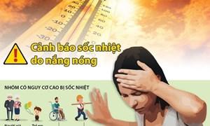 [Infographics] Cảnh báo sốc nhiệt do nắng nóng cao độ
