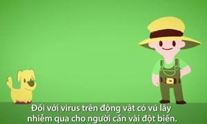 [Video] Con đường virus lây từ động vật sang người