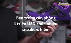 [Video] Bên trong căn phòng 4 triệu USD chứa toàn giày hiếm