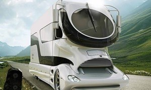 [Video] Xe du lịch thế hệ mới có nội thất như khách sạn 5 sao